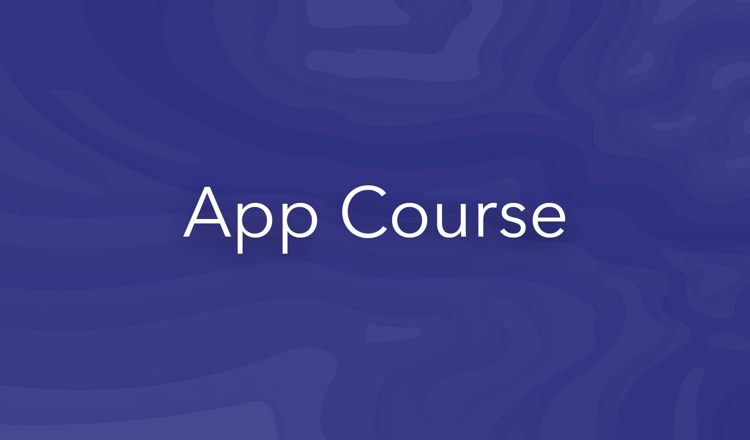 esri training app course