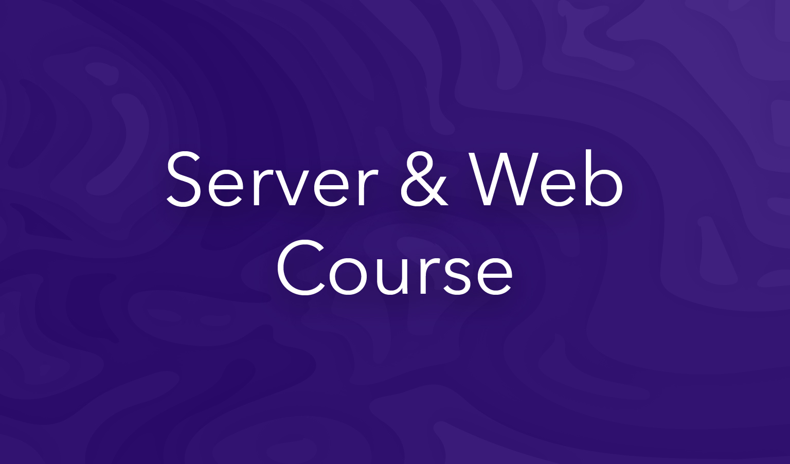 esri training server and web course