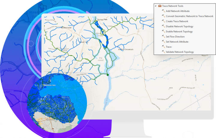 arcgis pro launch new capabilities trace networks