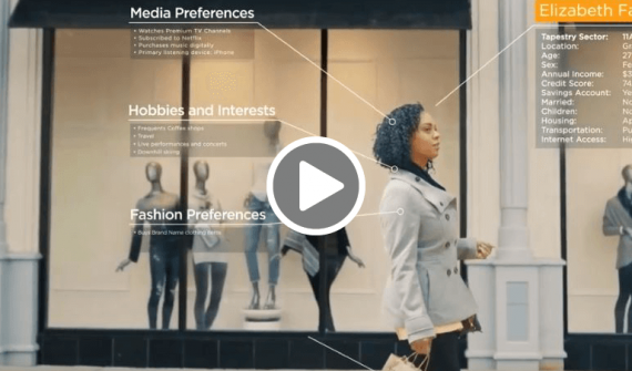 Shopping centre market intelligence video
