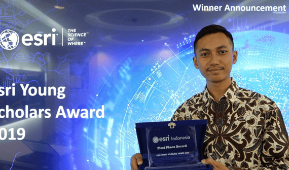 2019 Esri Indonesia Young Scholar card