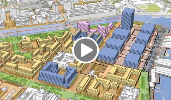 Building a Transit Oriented Development with ArcGIS Urban video card